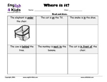 Worksheets Esl Preposition Worksheets esl kids worksheets home and prepositions set 3